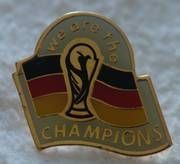 Pin We are the champions