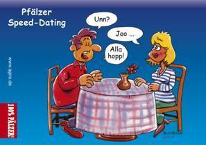 Aufkleber Speed-Dating
